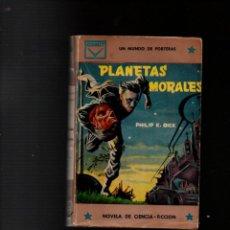 Libros de segunda mano: PLANETAS MORALES. PHILIP K. DICK. SELECCIONES DE CIENCIA-FICCION Nº 6. CENIT, 1ª EDICION 1960. Lote 254595640