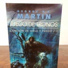 Libros de segunda mano: JUEGO DE TRONOS, CANCION DE HIELO Y FUEGO 1 - GEORGE R.R. MARTIN - ED. GIGAMESH, 2012, 1ª ED., BCN. Lote 254634610