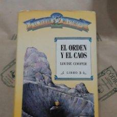 Libros de segunda mano: EL ORDEN Y EL CAOS, DE LOUISE COOPER. Lote 254683165