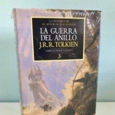 Libros de segunda mano: LIBRO LA GUERRA DEL ANILLO - HISTORIA EL SEÑOR DE LOS ANILLOS - J. R. R TOLKIEN - MINOTAURO - HOBBIT. Lote 255452865
