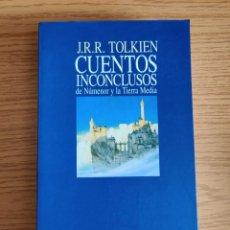 Libros de segunda mano: CUENTOS INCONCLUSOS DE NÚMENOR Y LA TIERRA MEDIA - J.R.R TOLKIEN. Lote 255539940