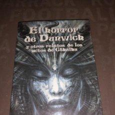 Libros de segunda mano: EL HORROR DE DUNWICH Y OTROS RELATOS DE LOS MITOS DE CTHULHU - H. P. LOVECRAFT - EDAF (1999). Lote 256075450