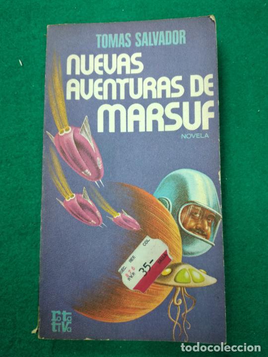 NUEVAS AVENTURAS DE MARSUF, TOMAS SALVADOR. PLAZA & JANES, 1ª EDICION 1977. ROTATIVA Nº 183 (Libros de Segunda Mano (posteriores a 1936) - Literatura - Narrativa - Ciencia Ficción y Fantasía)