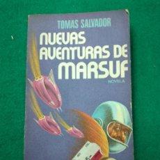 Libros de segunda mano: NUEVAS AVENTURAS DE MARSUF, TOMAS SALVADOR. PLAZA & JANES, 1ª EDICION 1977. ROTATIVA Nº 183. Lote 257295525