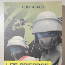 Libri di seconda mano: SCALZI, JOHN - LAS BRIGADAS FANTASMA - BARCELONA 2008 - 1ª EDICIÓN EN ESPAÑOL. Lote 257664880