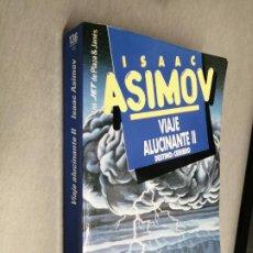 Libros de segunda mano: VIAJE ALUCINANTE II, DESTINO: CEREBRO / ISAAC ASIMOV / PLAZA & JANÉS BOLSILLO 1994. Lote 261569165