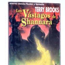 Libros de segunda mano: LA HERENCIA DE SHANNARA LIBRO I. LOS VÁSTAGOS DE SHANNARA (TERRY BROOKS) ACERVO, 1992. OFRT. Lote 261655850