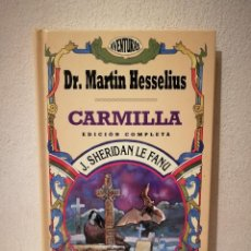 Libros de segunda mano: LIBRO - DR. MARTIN HESSELIUS - FANTASIA - CARMILLA - J. SHERIDAN LE FANU - COLECCIÓN AVENTURAS.. Lote 262015675