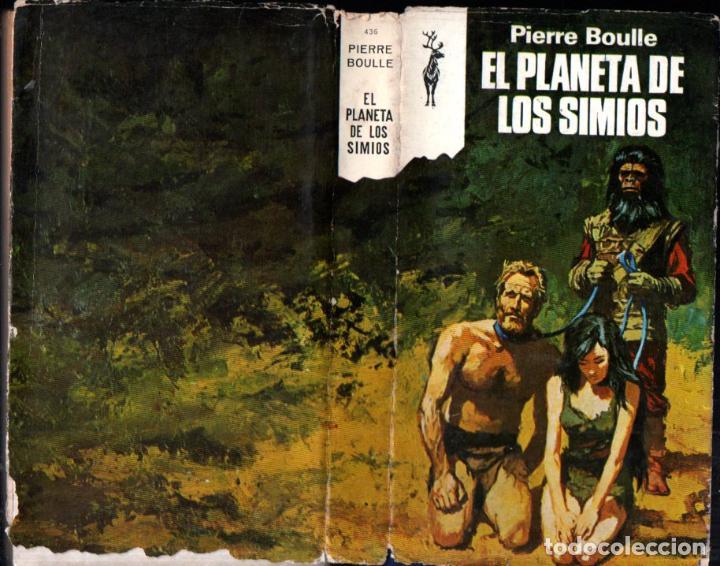 PIERRE BOULLE : EL PLANETA DE LOS SIMIOS (RENO, 1973) (Libros de Segunda Mano (posteriores a 1936) - Literatura - Narrativa - Ciencia Ficción y Fantasía)