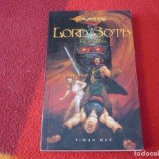 Libros de segunda mano: LORD SOTH ( EDO VAN BELKOM ) ¡MUY BUEN ESTADO! FANTASIA DRAGONLANCE TIMUN MAS. Lote 262669260