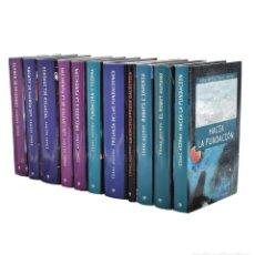 Libros de segunda mano: BIBLIOTECA ISAAC ASIMOV (COLECCIÓN COMPLETA EN 11 TOMOS) - ASIMOV, ISAAC. Lote 262935785