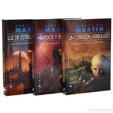 Libros de segunda mano: LUZ DE ESTRELLAS LEJANAS / HÍBRIDOS Y ENGENDROS / UN CORAZÓN ATRIBULADO (AUTOBIOGRAFÍA LITERARIA / 1. Lote 262935790