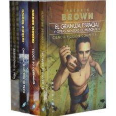 Libros de segunda mano: VEN Y ENLOQUECE Y OTROS CUENTOS DE MARCIANOS / LUNA DE MIEL EN EL INFIERNO Y OTROS CUENTOS DE MARCIA. Lote 262935805