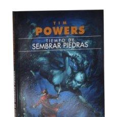 Libros de segunda mano: TIEMPO DE SEMBRAR PIEDRAS - POWERS, TIM. Lote 262935810