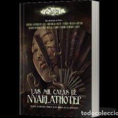 Libros de segunda mano: LAS MIL CARAS DE NYARLATHOTEP. LOS MITOS DE CTHULHU. EDGE. 360 PAGINAS. UNIVERSO LOVECRAFT. Lote 262957920