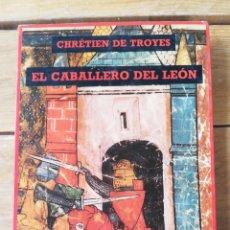 Libros de segunda mano: EL CABALLERO DEL LEÓN. CHRÉTIEN DE TROYES. EDICIONES SIRUELA. 1987.. Lote 263756210