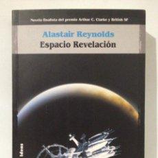 Libros de segunda mano: ESPACIO REVELACIÓN. ALASTAIR REINOLDS. SOLARIS FICCIÓN Nº 40. LA FACTORÍA DE IDEAS.. Lote 263808200