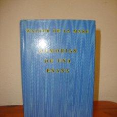 Libros de segunda mano: MEMORIAS DE UNA ENANA - WALTER DE LA MARE - SIRUELA, EL OJO SIN PÁRPADO. Lote 263810225