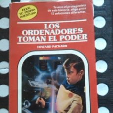 Libros de segunda mano: LOS ORDENADORES TOMAN EL PODER. EDWARD PACKARD. EDITORIAL TIMUN MAS. 1996.. Lote 263811660