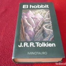 Libros de segunda mano: EL HOBBIT ( TOLKIEN ) MINOTAURO 7ª REIMPRESION 1985 TAPA DURA. Lote 264297892