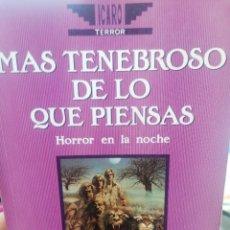 Libros de segunda mano: JACK WILLIAMSON. MÁS TENEBROSO DE LO QUE PIENSAS. Lote 265475309