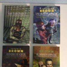 Livres d'occasion: FREDERIC BROWN CIENCIA FICCIÓN COMPLETA. Lote 266038468
