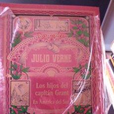 Libros de segunda mano: LOS HIJOS DEL CAPITÁN GRANT EN AMÉRICA DEL SUR JULIO VERNE. Lote 266041378