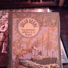Libros de segunda mano: LOS QUINIENTOS MILLONES DE LA BEGUN JULIO VERNE. Lote 266041988