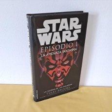 Libros de segunda mano: TERRY BROOKS - STAR WARS EPISODIO I, LA AMENAZA FANTASMA - MARTÍNEZ ROCA 1999. Lote 268592714