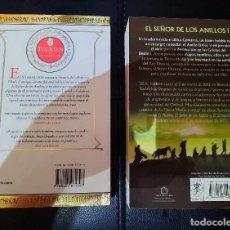 Libros de segunda mano: 2 DE TOLKIEN: EL SILMARILLION Y LA COMUNIDAD DEL ANILLO (EL SEÑOR DE LOS ANILLOS). Lote 268811864