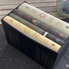 Libros de segunda mano: SET LIBROS J. R. R. TOLKIEN - EL SEÑOR DE LOS ANILLOS - EDICIÓN 60 ANIVERSARIO - NUEVO (HOBBIT). Lote 294499823