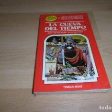 Livres d'occasion: TIMUN MAS. ELIGE TU PROPIA AVENTURA. Nº 1. LA CUEVA DEL TIEMPO. Lote 269006694