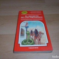 Libros de segunda mano: TIMUN MAS. ELIGE TU PROPIA AVENTURA. Nº 12. EL SECRETO DE LAS PIRAMIDES. Lote 269007969