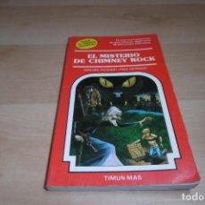 Livres d'occasion: TIMUN MAS. ELIGE TU PROPIA AVENTURA. Nº 16. EL MISTERIO DE CHIMNEY ROCK. Lote 269008309