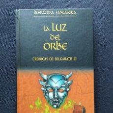 Libros de segunda mano: LA LUZ DEL ORBE, CRÓNICAS DE BELGARATH III - DAVID EDDINGS - LITERATURA FANTÁSTICA PLANETA. Lote 269160918