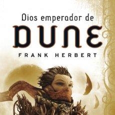 Libros de segunda mano: DIOS EMPERADOR DE DUNE (LAS CRÓNICAS DE DUNE 4). - HERBERT, FRANK.. Lote 269340628