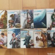 Libros de segunda mano: LOTE 10 NOVELAS DE JULIO VERNE. Lote 269588468