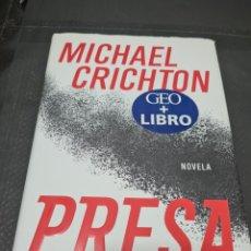 Libros de segunda mano: PRESA, 2003, MICHAEL CRICHTON. Lote 269782728