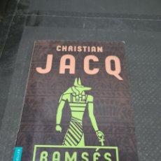Libros de segunda mano: RAMSÉS LA BATALLA DE KADESH, 2004, CHRISTIAN JACQ. Lote 269807708