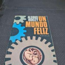 Libros de segunda mano: UN MUNDO FELIZ, 1976, ALDOUS HUXLEY. Lote 269809628