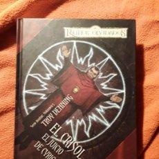 Libros de segunda mano: EL CRISOL/EL JUICIO DEL CYRIC EL LOCO. TROY DENNING. AVATAR 5. REINOS OLVIDADOS. RARO.. Lote 270933268