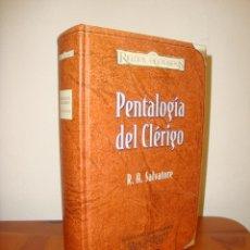 Libros de segunda mano: PENTALOGÍA DEL CLÉRIGO. EDICIÓN PARA COLECCIONISTAS - R. A. SALVATORE - TIMUN MAS REINOS OLVIDADOS. Lote 274891533