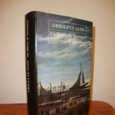 Libros de segunda mano: ELS LLIBRES DE TERRAMAR - URSULA K. LE GUIN - EDHASA CLASSICS MODERNS, RAR. Lote 274891178