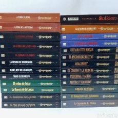 Libros de segunda mano: BUEN LOTE DE LIBROS DE FANTASIA EPICA, TIMUN MAS. Lote 276453708