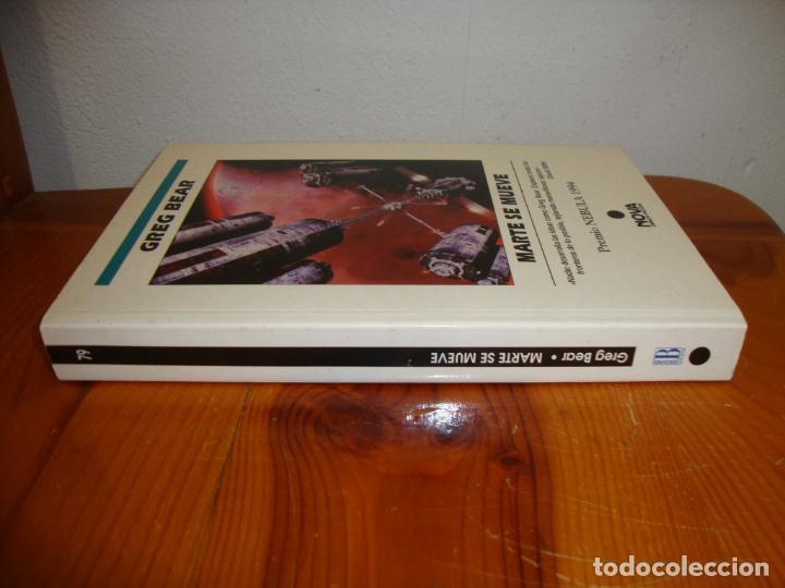 Libros de segunda mano: MARTE SE MUEVE - GREG BEAR - NOVA, MUY BUEN ESTADO - Foto 2 - 276470078