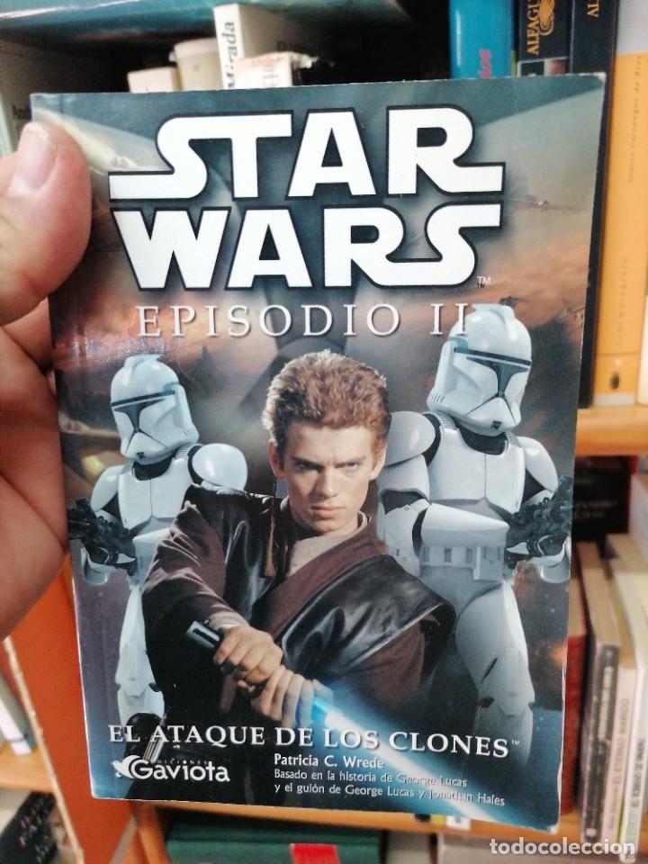 STAR WARS. EPISODIO II. EL ATAQUE DE LOS CLONES (Libros de Segunda Mano (posteriores a 1936) - Literatura - Narrativa - Ciencia Ficción y Fantasía)