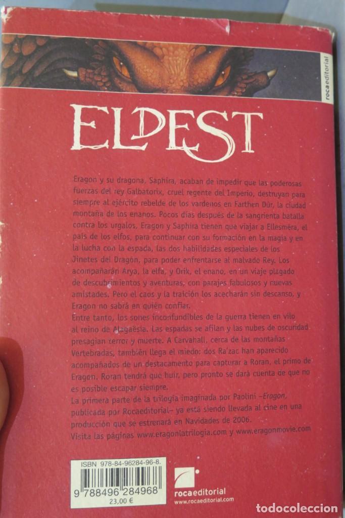 Libros de segunda mano: ELDEST. CHRISTOPHER PAOLINI - Foto 2 - 276961733