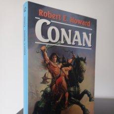 Libros de segunda mano: CONAN - ROBERT E HOWARD - MARTINEZ ROCA FANTASY 42 - SERIE CONAN N°1. Lote 277187608
