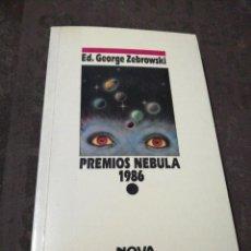 Libros de segunda mano: ED. GEORGE ZEBROWSKI - PREMIOS NEBULA 1986. Lote 277204263