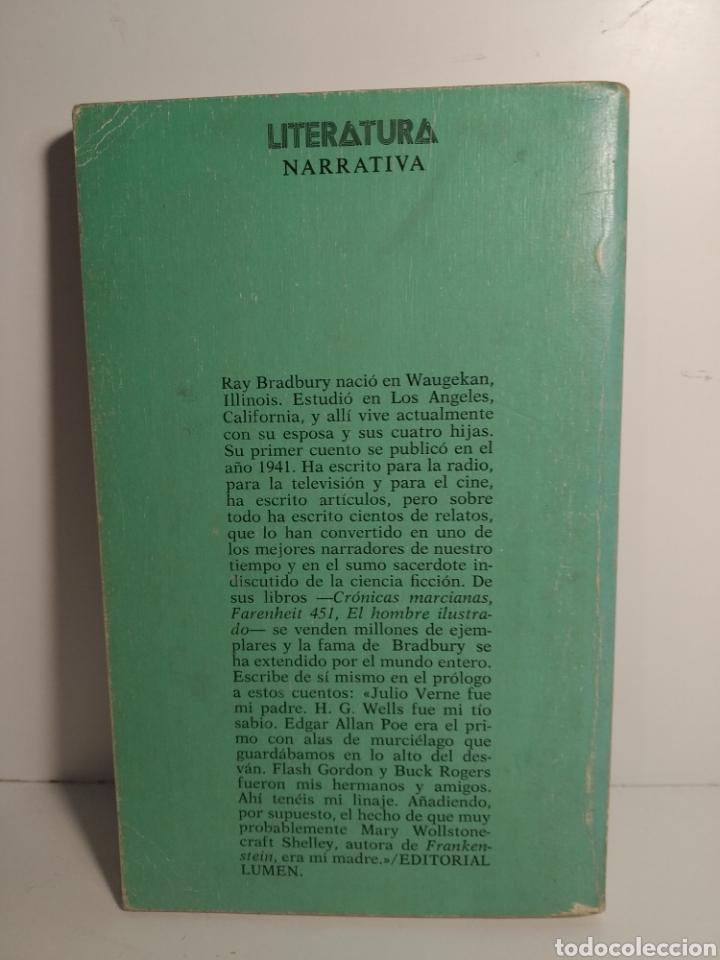 Libros de segunda mano: Cuentos espaciales. Ray bradbury. Ediciones de bolsillo. Lumen - Foto 3 - 277448788